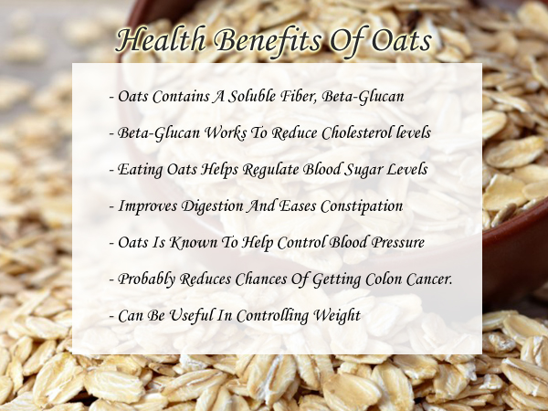 oats good for health